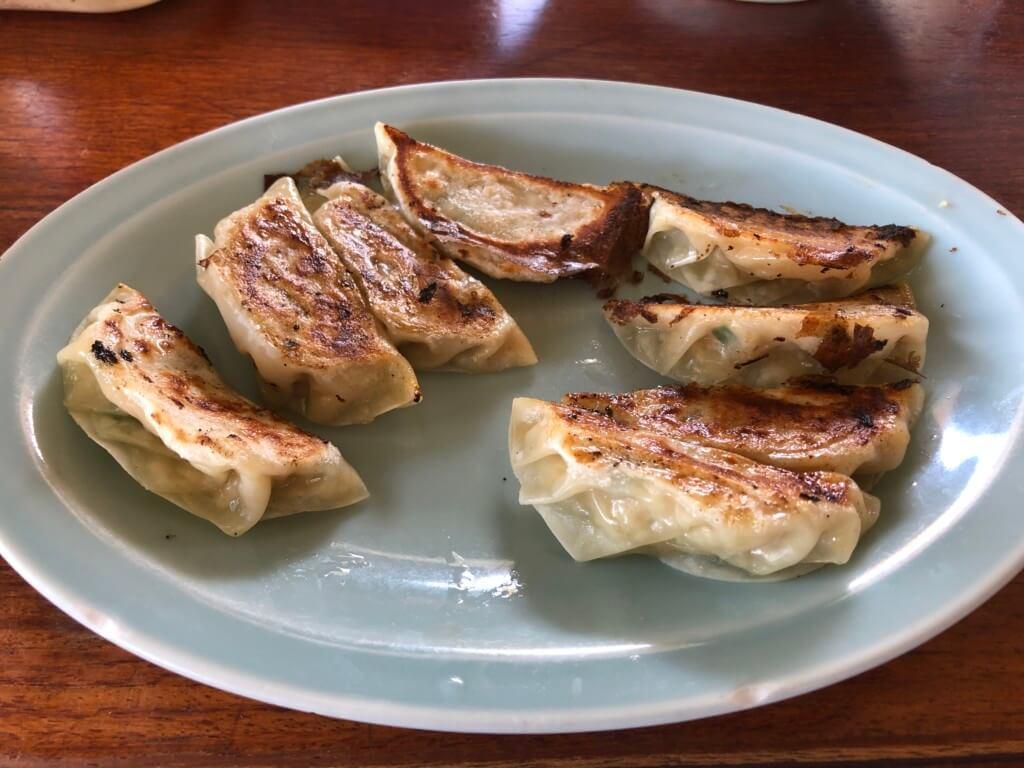 あづまラーメンの餃子