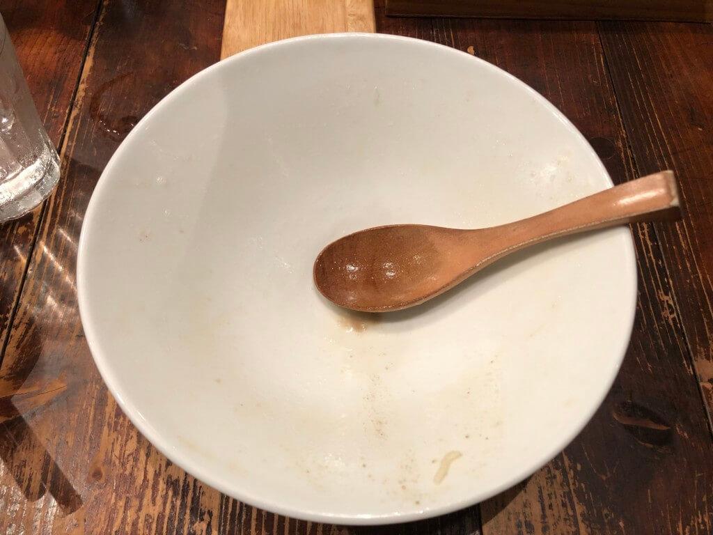 ライフイズジャーニーのスープ完飲