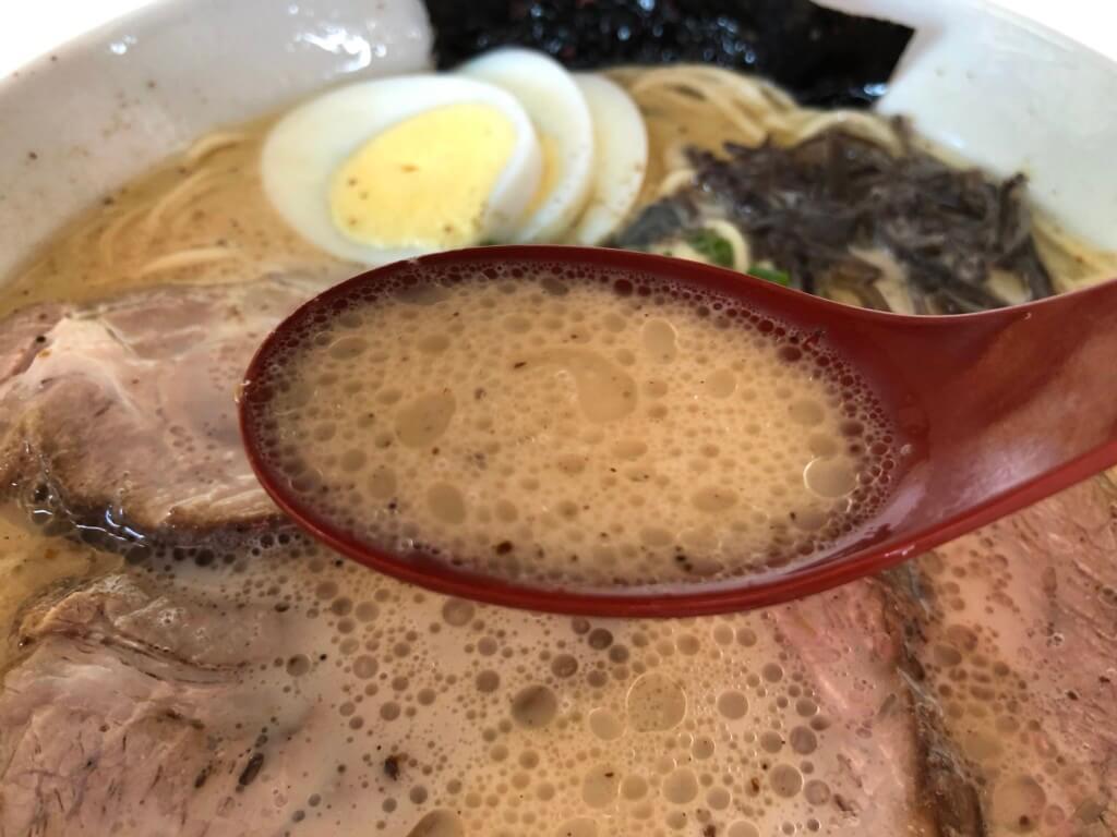 龍峰のスープ
